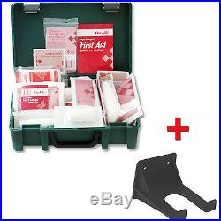 1-10 Person Premium HSE First Aid Workplace Kit + FREE Wall Bracket CE Marked