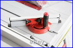 10 240V Bench Table Saw with Side & Rear Extensions TCT Blade 1500W Trade Motor