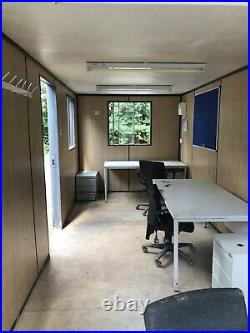 20X 8ft Anti vandal Office, Site Cabin, Canteen, staff room, Drying Room