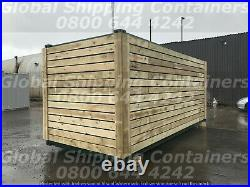20ft x 8ft Cladded Shipping Container