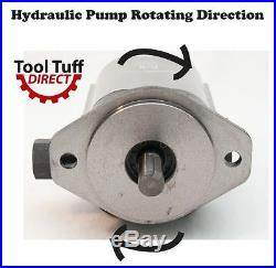 28 GPM Hydraulic Log Splitter Pump, Dual Stage, 4000 psi Rated, Wood Processor
