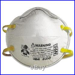 3M 8210 N95 Particulate Respirator Mask, 1- Box Of 20 MASKS, Express Shipping