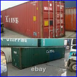 40ft Shipping & Storage Container Cargoworthy (wind and watertight)- Liverpool