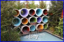 Camping Glamping Pod Garden Summer House Man Cave Concrete Pipe Tube Cabin Opod