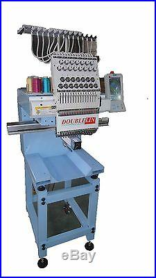 Commercial Embroidery Machine, Compact, NEW, Single head, 15 needles, New Style