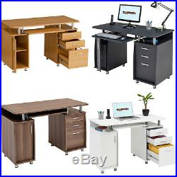 Computer Desk with Storage & A4 Filing Drawer Home Office Piranha Emperor PC 2