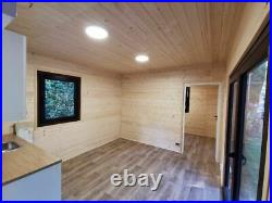 Container Home 10 x 3.5m, Mobile House, Tiny House, Wc, Shower, furnitur