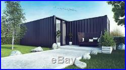 Converted Shipping Container 40ft Holiday Home Portable House Cabin Garden room