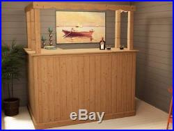 Corner Bar Counter Breakfast Bar Man Cave Home Party Drinks BBQ Dunster House
