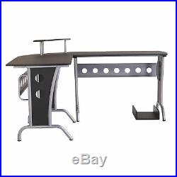 Corner Computer PC Desk Home Office Table Furniture Writing Workstation New