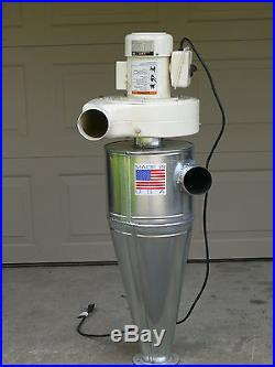 Cyclone Separator for Dust Collector with RIGHT HAND INLET