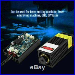 DIY 450nm 15W Blue Laser Head Engraving Module With AC Adapter