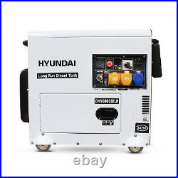 Diesel Generator 6kW 7.5kVA Home Standby Long Run Electric Start DHY8000SELR