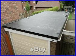 Firestone Rubber Roof Kit (6.1m x 3.5m) Single Garage EPDM, Adhesive and Trims