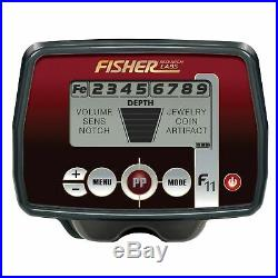 Fisher F11 Metal Detector with 7 Waterproof Search Coil