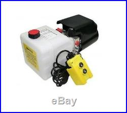 Flowfit 12V DC Single Acting Hydraulic Power pack with 8L Tank ZZ003834