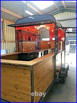 Horse Box / mobile bar / conversion / Catering trailer converted/ industrial