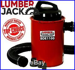 Lumberjack 50L Dust Extractor Vacuum with Hose Workshop Wood Chip Collector 240v