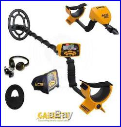 NEW Garrett Ace 300i Metal Detector with FREE Accessories