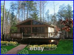 Northridge I 24 x 32 Customizable Shell Kit Home, delivered ready to build