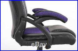 Office Chair Executive Racing Gaming Swivel Pu Leather Sport Computer Desk