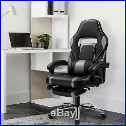 Office Chair Swivel Executive Racing Gaming Computer Desk Chair Faux Leather UK