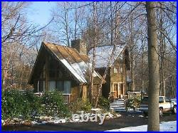 Pinehurst A-Frame 34x 47 Customizable Shell Kit Home, delivered ready to build