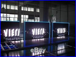 Programmable Outdoor Full color led sign 3' X 6' (40 X 72) P16 MM LED DISPLAY