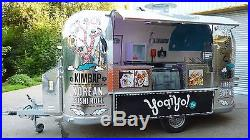 Retro American style catering trailers