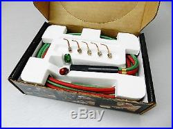 SMITH LITTLE TORCH 23-1001D Jewelers Torch Jewelry 5 Tips Complete USA ORIGINAL