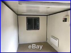Shipping container 21ft x 8ft A/V OFFICE /canteen CONTAINER Ex MANCHESTER