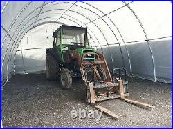 Strong Outdoor Livestock Shelter 20ft x 30ft x 12ft 300GSM