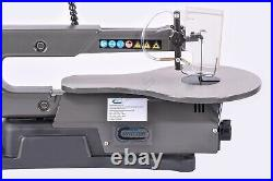 SwitZer 16 Variable Speed Scroll Fret Saw 125W With Blade LED Lamp Dust Blower