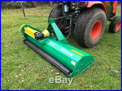 Tractor Mounted Flail Mower Topper 1.75m. Off Set. £1399 inc VAT and Delivery