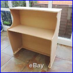 Trade showithsalon reception desk -free delivery shop exhibition counter stand mdf